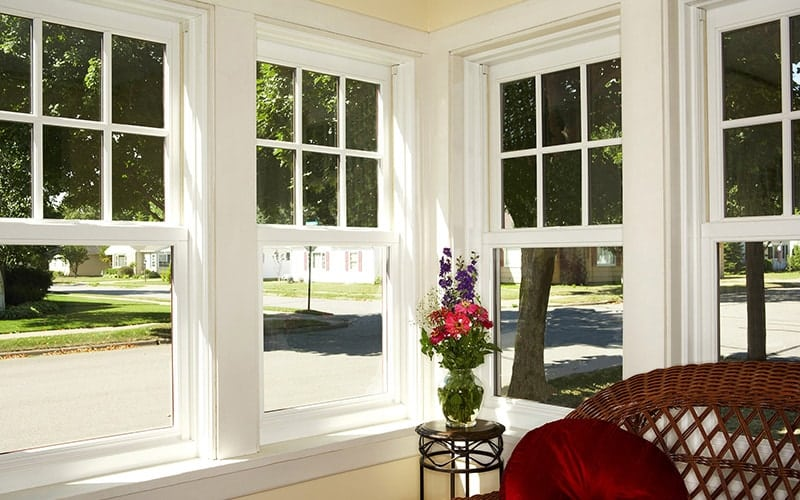 Although There Are Other Materials Used In Window Making Wood Frames And All Vinyl The Most Common Include Aluminum