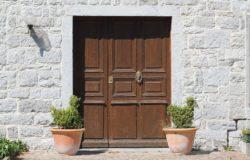 best door material